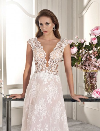 ΝΥΦΙΚΟ DEMETRIOS LUXURIOUS CHANTILLY LACE ΚΩΔ.1085315