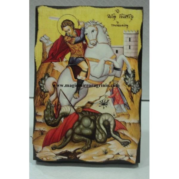 ΕΙΚΟΝΑ ΞΥΛΙΝΗ ΧΕΙΡΟΠΟΙΗΤΗ ΓΙΑ ΜΠΟΜΠΟΝΙΕΡΕΣ ΒΑΠΤΙΣΗΣ ΚΩΔ.104101109